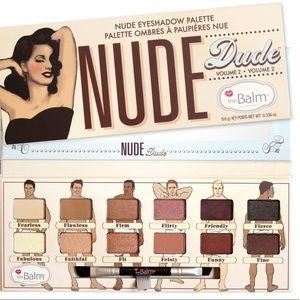 theBalm Nude Dude Eyeshadow Palette NIB